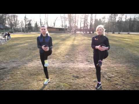 Pratimai prieš bėgimą