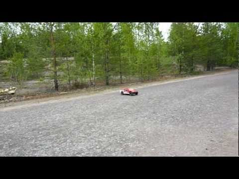 scrt10 - First Run with Sidewinder Sv2 / Castle Neu 4-pole 3800kv. Running on Zippy 3s 5000mah lipo.