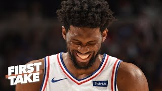 'There is no answer' for a healthy Joel Embiid – Stephen A. on 76ers vs. Raptors | First Take