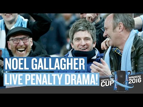 RELIVE THE PENALTY DRAMA WITH NOEL GALLAGHER | Capital One Cup Final