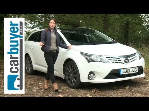 Toyota Avensis Tourer estate 2013 review – CarBuyer
