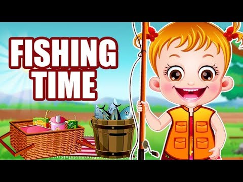 Video of Baby Hazel Fishing Time