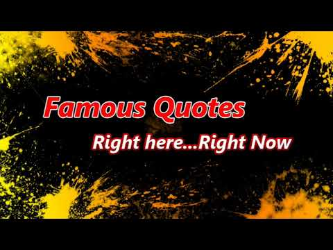 Famous Quotes / Jim Healy Montage