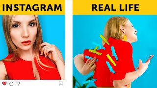 Video INSTAGRAM VS REALITY || Are you living an insta lie? || Relatable by 5-Minute FUN MP3, 3GP, MP4, WEBM, AVI, FLV September 2019