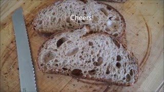 Video How to Make Tartine Style Country Bread MP3, 3GP, MP4, WEBM, AVI, FLV Agustus 2018