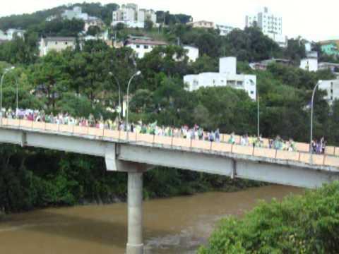 MANIFESTAÇÃO EM VIDEIRA-SC