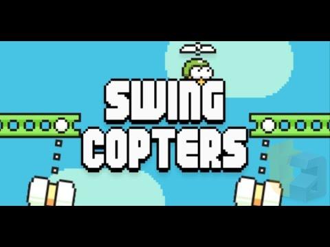 Геймплей видео на Swing Copters - наследникът на Flappy Birds
