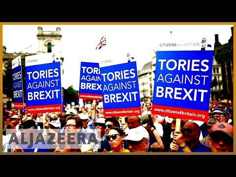 🇬🇧UK public frustration grows over Brexit crisis | Al Jazeera English