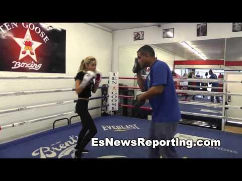 Ricky Funez Boxing Trainer To The Stars - EsNews (видео)