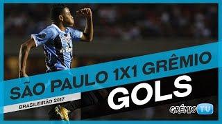 Confira os gols do empate do Tricolor com o São Paulo no Morumbi, o gol do Grêmio foi marcado por Pedro Rocha, a partida foi válida pela 16ª rodada do Campeonato Brasileiro 2017!Imagens e edição: Juares Dagort→ Inscreva-se no canal e faça parte da torcida mais fanática do Brasil também aqui no YouTube!:: SITE http://gremio.net:: FACEBOOK https://facebook.com/gremio:: TWITTER @gremio:: INSTAGRAM https://instagram.com/gremio:: GOOGLE PLUS http://google.com/+GremioFBPA*** Esta é a GrêmioTV, o canal oficial do Grêmio FBPA no YouTube. Acompanhe vídeos exclusivos e transmissões ao vivo durante a semana. *** PRODUÇÃO E REALIZAÇÃO: Comunicação Grêmio FBPA
