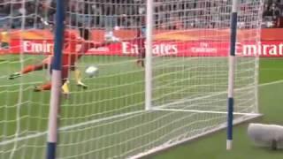 Weird Handball Australia vs. Equatorial Guinea at 2011 Womens worldcup.