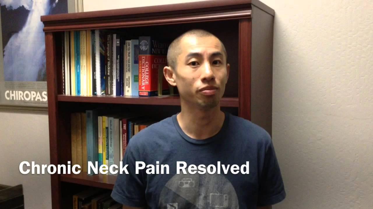 Belmont Chiropractor   Neck Pain Treatment