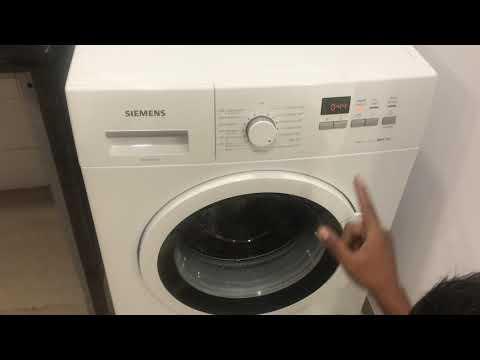 Siemens 7 Kg washing Machine Demo