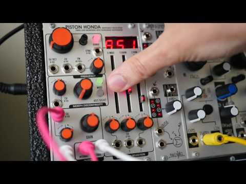 Piston Honda MKII  - Industrial Music Electronics (The Harvestman)