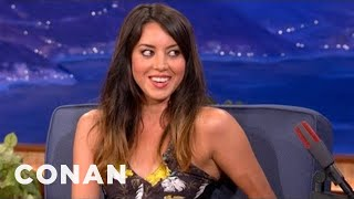 Nonton Aubrey Plaza On Her New Film