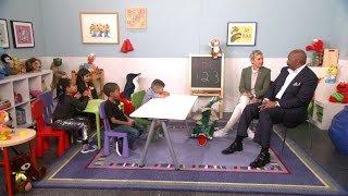 Video Ellen and Steve Harvey Talk to Kids MP3, 3GP, MP4, WEBM, AVI, FLV Juni 2019