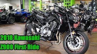 4. 2018 Kawasaki Z900 First Ride Review