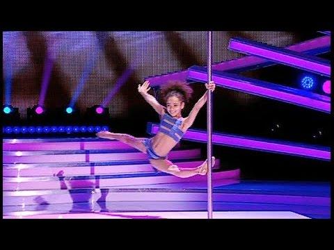 All judges shocked! 8 year old Pole Dancer Emily Moskalenko
