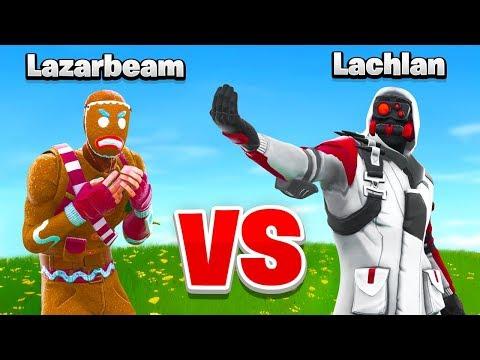 Lachlan VS Lazarbeam In Fortnite_A héten feltöltött legjobb videójáték videók