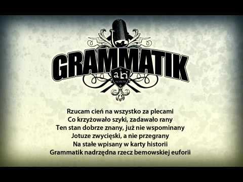 Tekst piosenki Grammatik - Płaczę rymami po polsku