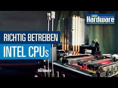 Intel-CPUs innerhalb der Spezifikation betreiben / PCGH-Basiswissen