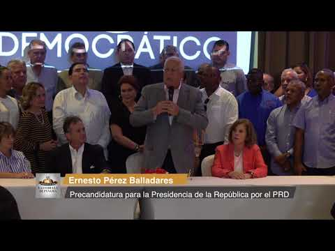 Navarro declina sus aspiraciones y apoya precandidatura de Pérez Balladares
