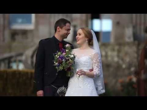 Anna & Colin - Springkell Wedding