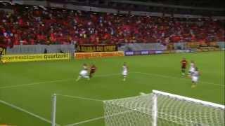 Os gols do empate entre Sport x Flamengo em HD. Imagens da TV Globo.