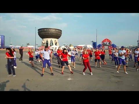 Παγκόσμιο Κύπελλο Ποδοσφαίρου: Όταν οι εθελοντές…χορεύουν…