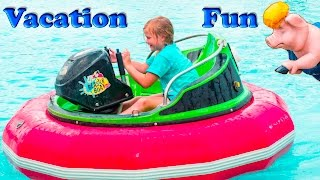 ASSISTANT Speedy Cars Fast Boats mazes and Gold Fun Family Vac...