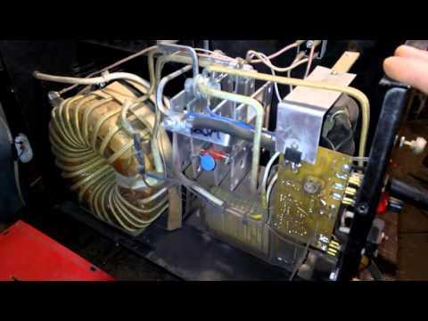 Зварювальний напівавтомат ТЕМП-180 (видео)