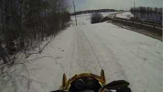 10. Ski-Doo MXZ ADRENALINE 600 H.O SDI (30-03-2013) Part 4 (Last Part)