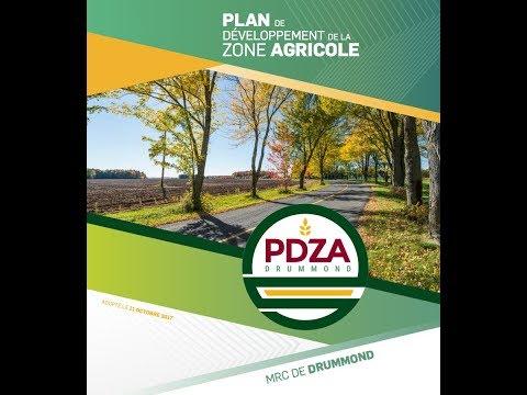 MRC DRUMMOND : Mise en place du PDZA