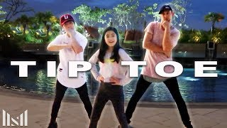 TIP TOE - Jason Derulo Dance ft Ranz & Niana | Matt Steffanina Choreography