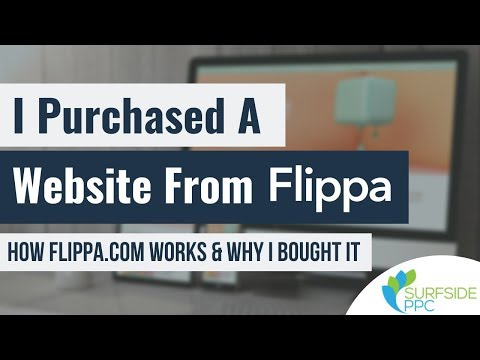 I Purchased A Website From Flippa - How Flippa Works and Why I Bought It