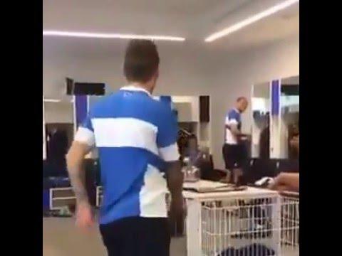 Atalanta, Gomez balla come Shakira nello spogliatoio