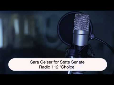 """Choice"":  Radio Ad for Sara Gelser for State Senate, 2014 (created by Elevated Campaigns)"