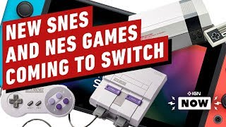 New SNES, NES Games Coming Switch - IGN Now by IGN
