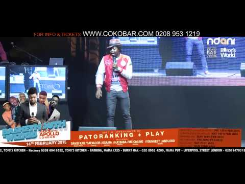 BASKETMOUTH - POLICE FORCE PACKAGING - BASKETMOUTH LIVE AT THE APOLLO - 14TH FEB 2015