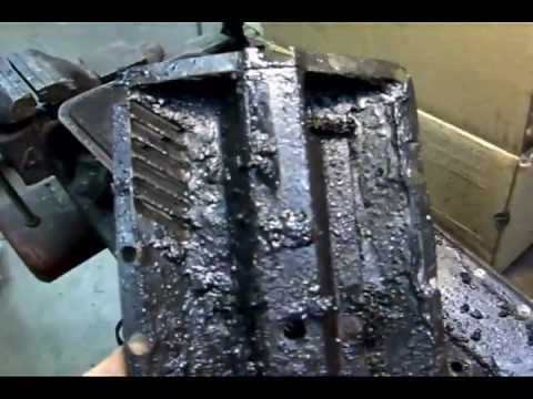 1955 Buick Century engine  (Crankcase Ventilation Mesh Replacement)