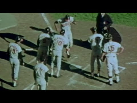 Video: O's pitcher Cuellar hits a grand slam in Game 1 of the 1970 ALCS