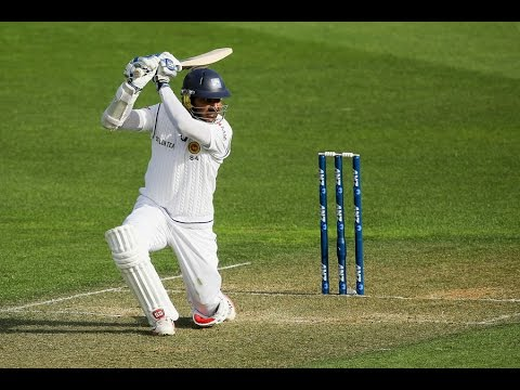 Kumar Sangakkara - Cover Drive Compilation