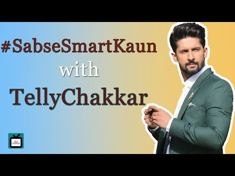 Ravi Dubey nails  Sabse Smart Kaun challenge