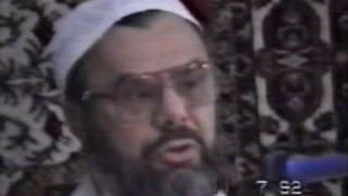 11.07.1992  kelkit  hadis sohbeti  prof. dr. mahmud esad coşan rh.a