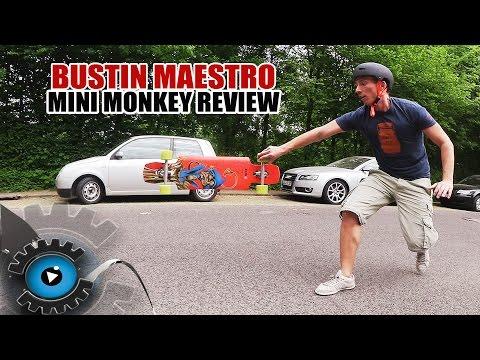 Bustin Maestro Mini Monkey Longboard Review/Test [Deutsch/German]