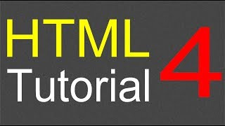 HTML Tutorial for Beginners - 04 - Creating a table