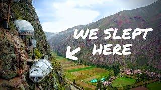 Video WE SLEPT ON THE SIDE OF A MOUNTAIN | Peru Sky Lodge MP3, 3GP, MP4, WEBM, AVI, FLV Juli 2019
