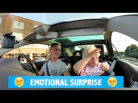 Emotional suprise for nan's birthday
