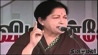 Jayalalithaa pricks Gujarat model with sharp figures - Dinamalar April 17th 2014 News