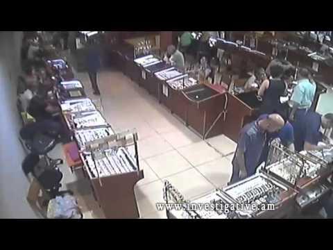 Տեսախցիկներն արձանագրել են գողության դրվագ (Տեսանյութ)